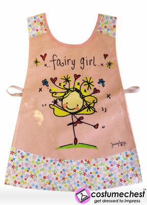 Juicy Lucy Fairy Childrens Art/Craft Waterproof Painting Tabard Apron by Shreds