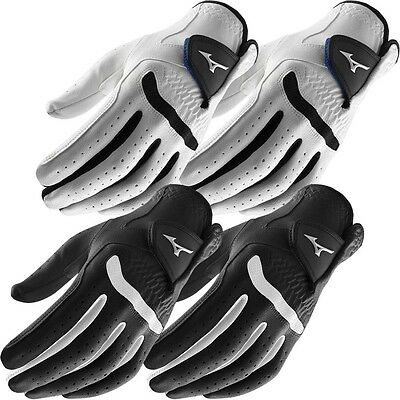 **Pack of 2** Mizuno 2016 All Weather Comp Mens Golf Gloves - Left Hand