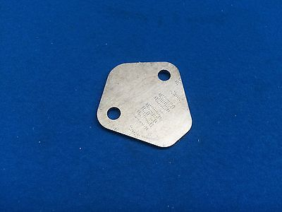 Ford X-Flow Fuel Pump Blanking Plate OE900 RED