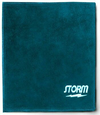 Storm Bowling Shammy Leather Blue Oil Removing Pad