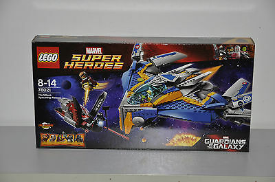 Lego Guardians of the Galaxy 76021 The Milano Spaceship Rescue - Brand New