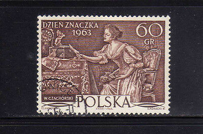 POLONIA/POLAND 1963 USED SC.1174 Stamp Day