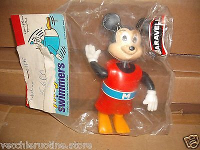WALT DISNEY TOPOLINO NUOTATORE MICKEY MOUSE SWIMMER TOMMY BARAVELLI vintage