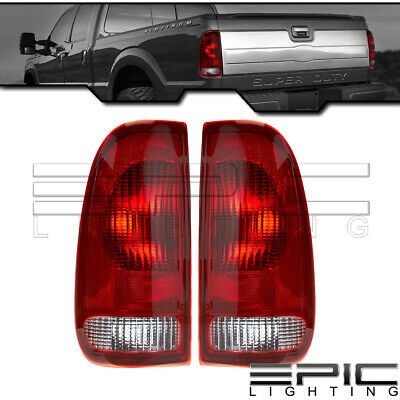 Brake Tail Lights for 1997-2007 FORD F350 F450 F550 F150 F250 - Left Right Pair