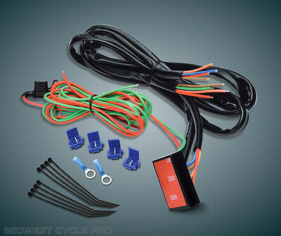 Universal Trailer Wiring Harness fits Harley Honda Yamaha harley davidson trailer wiring harness plug and play $59 00 picclick  at edmiracle.co