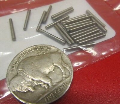 "Steel Taper Pins No. 7/0 .063 Large End x .052 Small End x 1/2"" Long, 50 Pieces"
