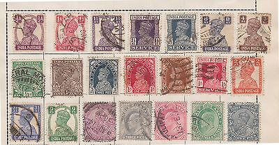 (Q15-197) 1902-60 India mix of 70stamps 3Pto 8A mint & used