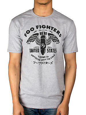 Official Mens Foo Fighters There is Nothing to Lose T-Shirt Rock Wasting Light
