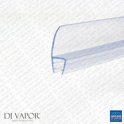 Di Vapor (R) Shower Door / Screen Seal | 4-6mm/8mm/10mm Glass | 16mm Fin | Seals
