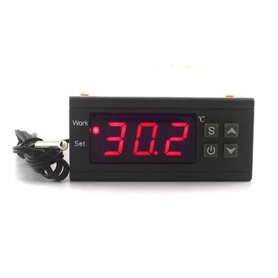 Digital Temperature Controller Thermostat AC10A110V220V LED Sensor for Incubator