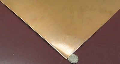 """110 Copper Sheet Soft Annealed  .043"""" Thick x 24.0"""" Wide x 24.0""""  Length"""