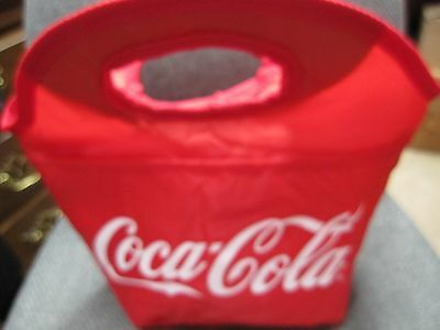 Coca Cola Vinyl  Clutch Lunch Cooler -