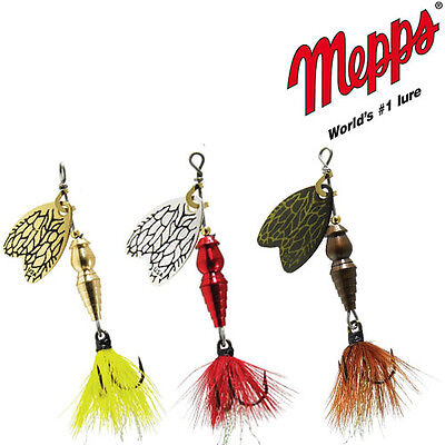 Mepps Thunder Bug Fishing Spinners // Perfect for Panfish and Trout  // SIZES