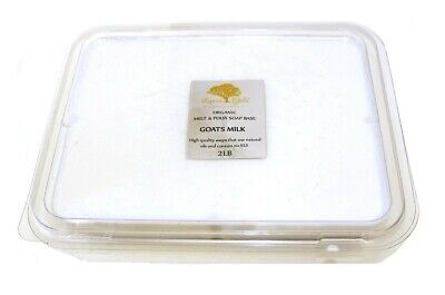 2 Lb Goats Milk Melt And Pour Soap Base SoapMaking Supplies Organic Best Quality