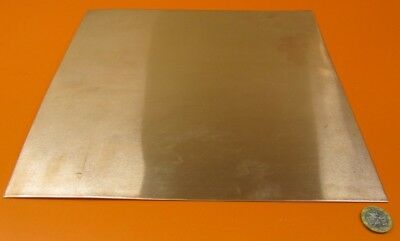 "101 Copper Sheet Soft Annealed  .062"" Thick x 12.0"" Wide x 12.0""  Length"
