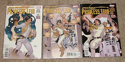 Star Wars Princess Leia - Issues 1, 2, 3, 4 & 5