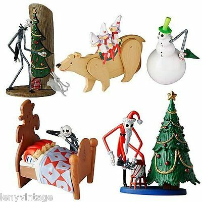 The Nightmare Before Christmas Trading Figure Series 1 Set Of 4