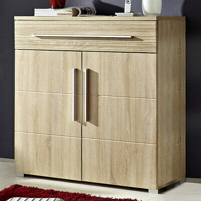 schuhschrank flur kommode garderobe eiche san remo. Black Bedroom Furniture Sets. Home Design Ideas