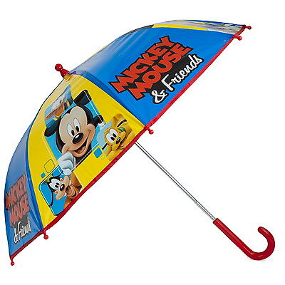 NEW OFFICIAL Mickey Mouse Disney Boys Girls Kids Bubble / Dome Umbrella / Brolly
