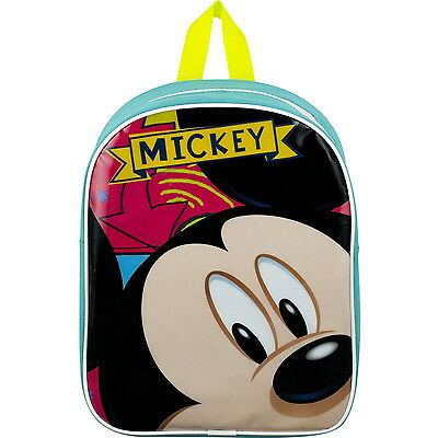 NEW OFFICIAL Mickey Mouse Disney Boys Girls Kids Backpack Rucksack / School Bag