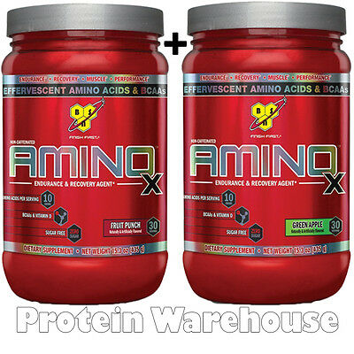 BSN Amino X Energy 60 Servings 2 x 435g AminoX Bcaa Gym Training