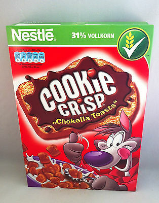 "Nestle Cookie Crisp ""Chokella Toasts""/Cerealien 31% Vollkorn 350g(100g/1,14€)"