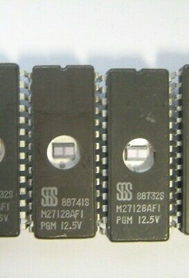 SEEQ DQ5133-250 DQ5133 5133 IC 28Pin DIP EPROM TESTED ERASED Lot of 2 Pcs