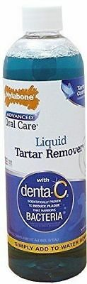 Nylabone Advanced Oral Care Liquid Tartar & Plaque Remover w/Denta-C 16oz