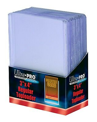 "Ultra Pro 3 x 4"" Top Loader x25 - Clear Toploader"