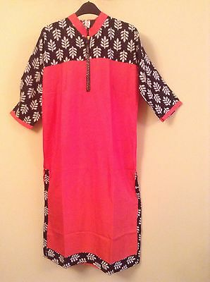 Indian kameez Kurti  Stitched Women Pakistani wear • EUR 9,86