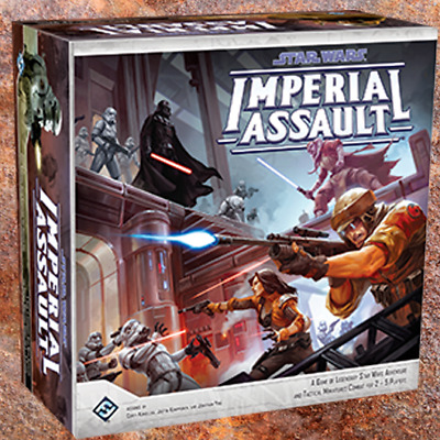 Star Wars Imperial Assault Figures and Deployment Cards