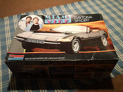 Miami Vice Daytona Spider sealed model kit by monogram