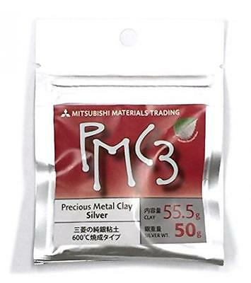 NEW Mitsubishi PMC3 Precious Metal Clay Silver Art CLAY 50g from Japan F/S