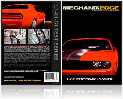 ASE TEST PREP Exhaust Specialist X1 L1 C1 Certification Study Testing Program CD