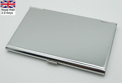 Aluminum Pocket Business Credit Debit Card Case Metal Box Holder Wallet