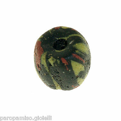 Early Islamic Glass Bead  -  (0836)