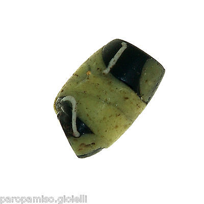 Early Islamic Glass Bead Found in MALI  -  DAMAGED  -  (0841)