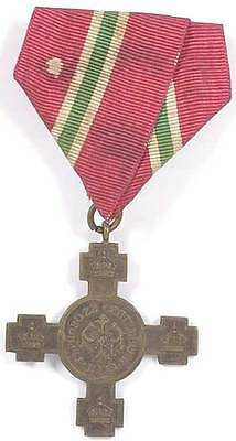 Royal Medal Cross for Bulgarian Independence 1908