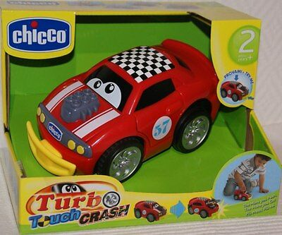 CHICCO Turbo Touch Crash rot NEU / OVP