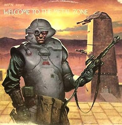 2 Lp-Mfn Says-Welcome To Metal Zone-Uk 1985-Compilation