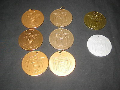 Explorer Olympic Medallions, lot of 8 medallions only    c17