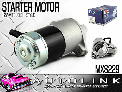 STARTER MOTOR SUIT RENAULT SCENIC RX4 2.0lt 4CYL 5/2001 - 8/2003 ( MXS229 )