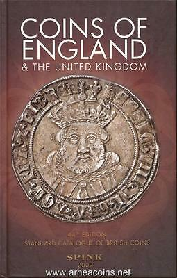 Spink 2009 Coins of England & the United Kingdom 44th Edition (Hard Cover)