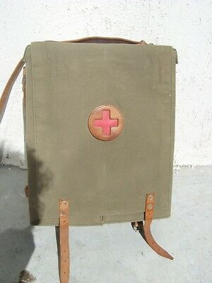 Ww2 First Aid Bag With Equipment