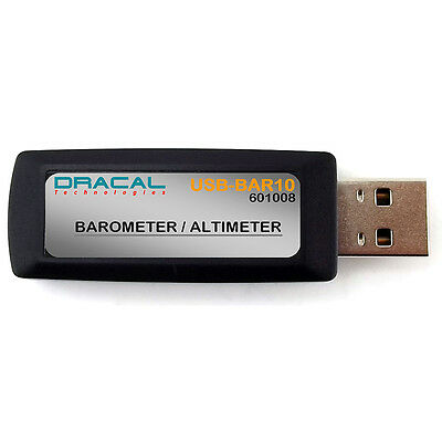 Dracal Technologies USB Precision Barometer/Altimeter for DAQ