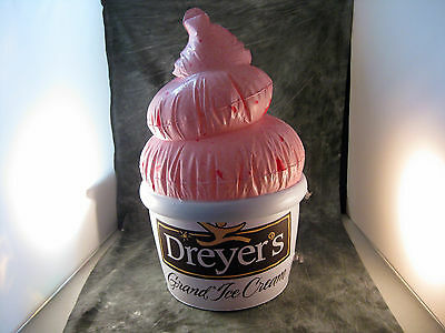 NEW Promo Dreyer's Ice Cream Store Display Hanging Sign Cone Dreyers