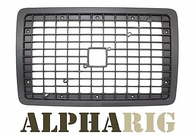 2004-2010 SHADOW BLACK VOLVO VNL Front Grille With BUG SCREEN
