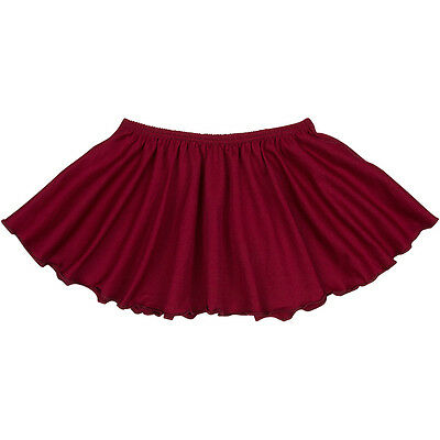 BURGUNDY Toddler & Girls Classic Ballet Dance Leotard Skirt