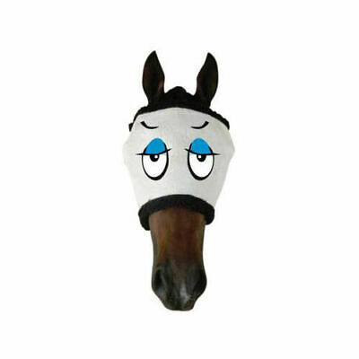 New Funny Horse Pony Fly+mask+Fly+Veil - CASANOVA UV+Insect protection