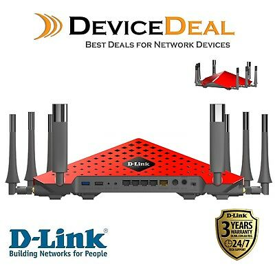 D-Link AC5300 DIR-895L MU-MIMO Ultra Wi-Fi Router - 3 Years D-Link Warranty